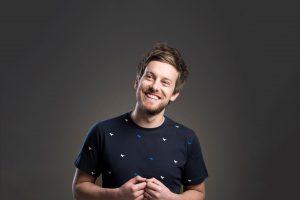 Chris Ramsey smiling
