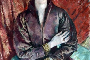 Mrs Eva Lutyens by Glyn Warren Philpot