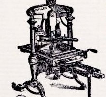Letter Press Demonstration
