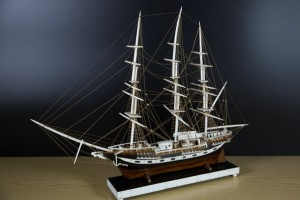 Cutty Sark model by Southport model-maker AW Kiddie