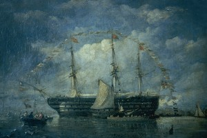 A Piece Nelson's Naval History on Display at The Atkinson