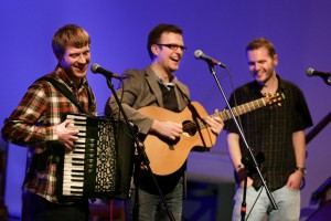 Christmas Folk at The Atkinson with The Young'uns This December