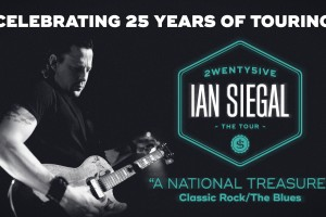 Ian Siegal Performs 25th Anniversary Tour and Retrospective Collection at The Atkinson