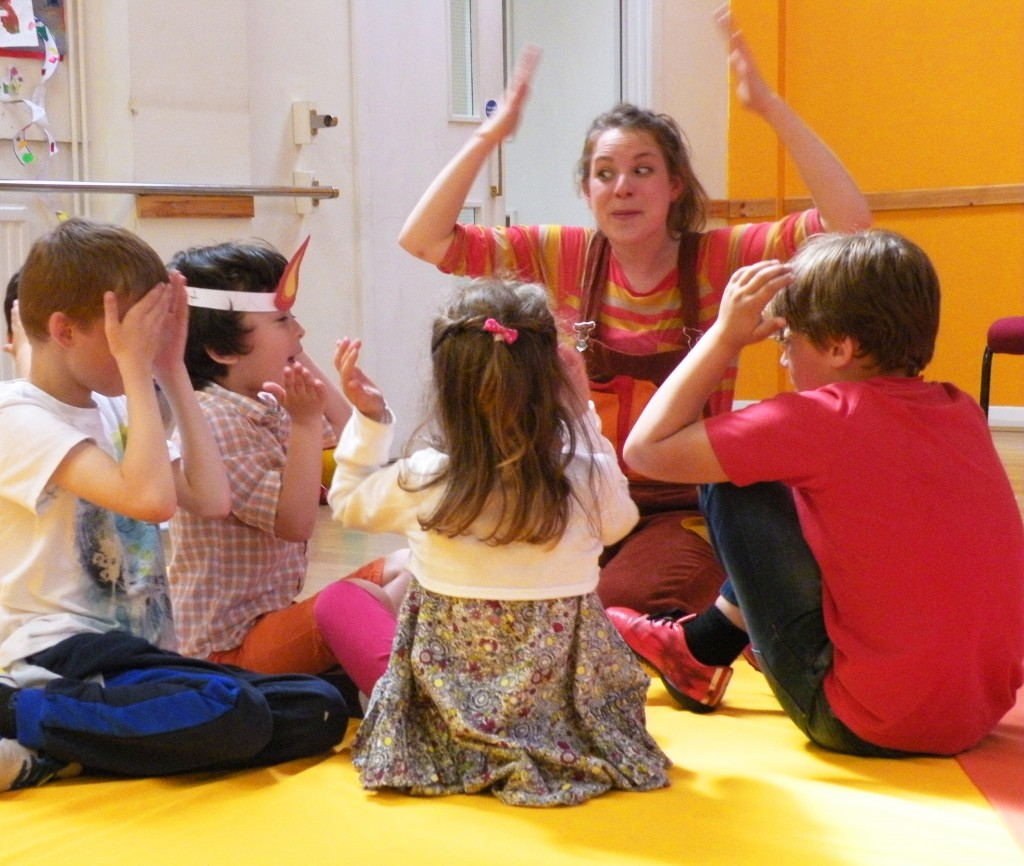 Ding Dong, an Interactive Musical Play about Time for Families