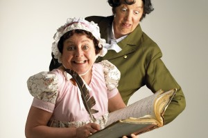 Lipservice Lose Plot with Jane Austen and Mr Darcy for a Great Night of Comedy Theatre