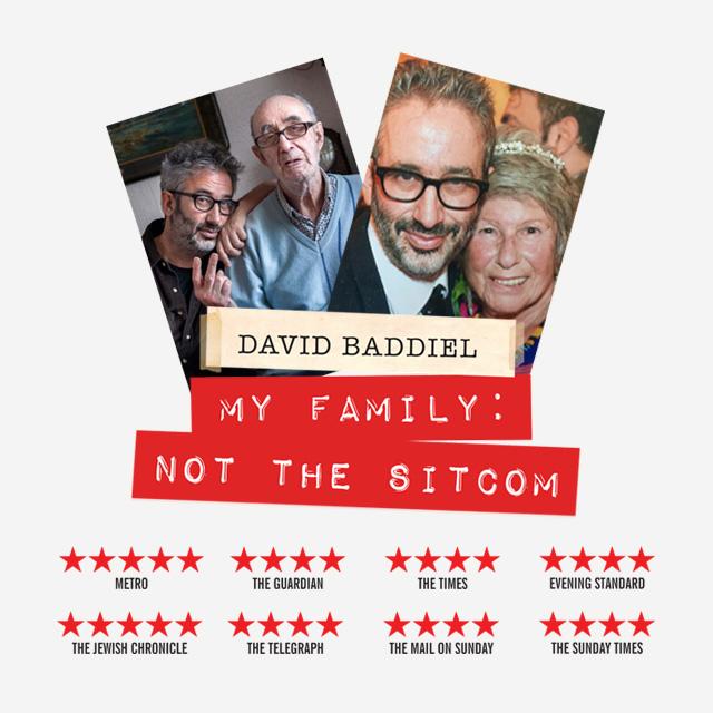 David Baddiel is Coming!