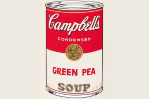 Andy Warhol's Pop Art Soup Can