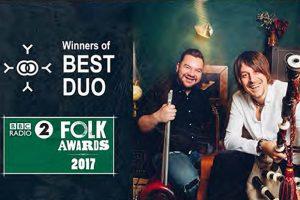 BBC Radio 2 Folk Award Winners Ross Ainslie & Ali Hutton to  Play The Atkinson, Southport