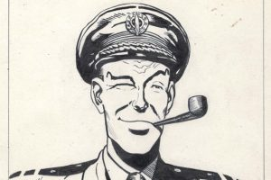 Sketch of Dan Dare