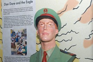 Photo of Dan Dare Bust