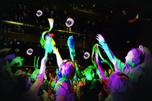 Boogie to a mythically themed silent disco at this year's Southport Festival