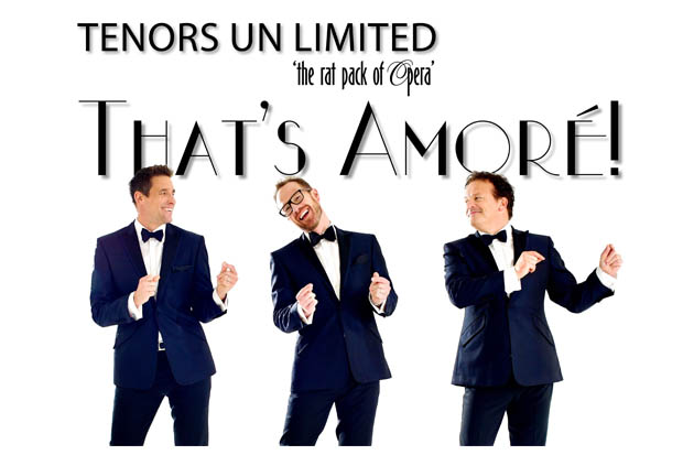 """Tenors Unlimited new show """"That's Amoré"""""""