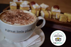 A Great Little Place café wins TripAdvisor Certificate of Excellence