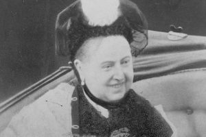 A photograph of Queen Victoria smiling