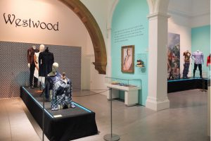 Photograph of the Vivienne Westwood exhibition