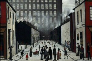 Street Scene by L S Lowry