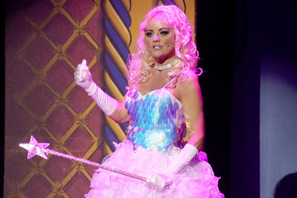 Claire Simmo as the Fairy Godmother
