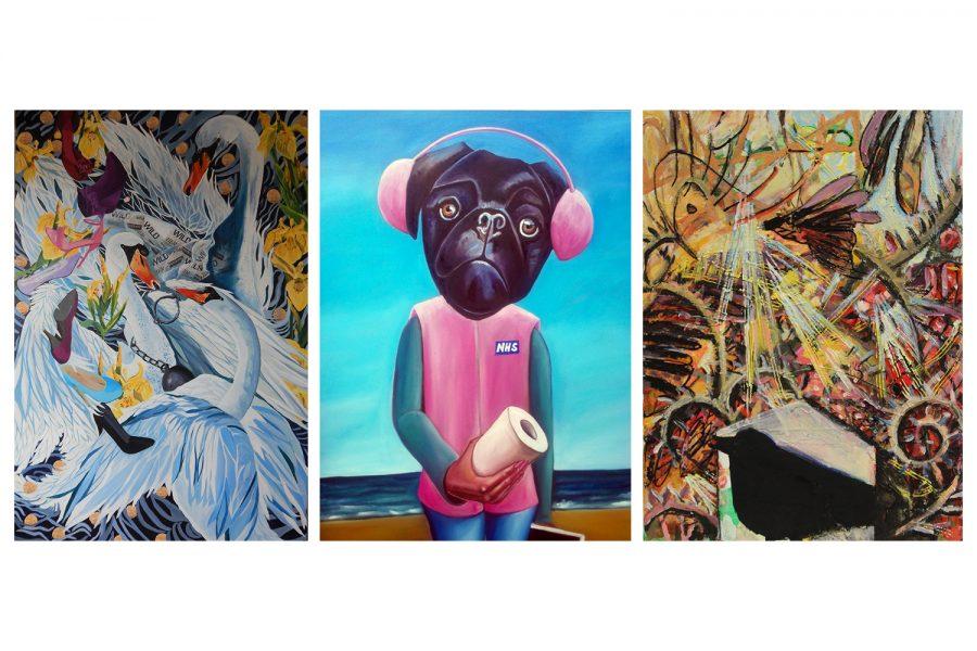 Digital Exhibition – The Landing: Becky Atherton, Bob Heath & Samantha Aylwin