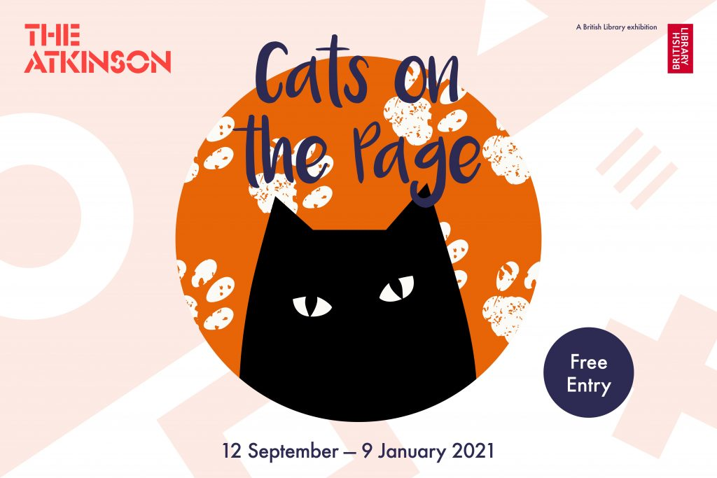NEW exhibition – Cats on the Page