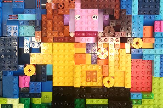LEGO Puzzle: The Master Mosaic Maker
