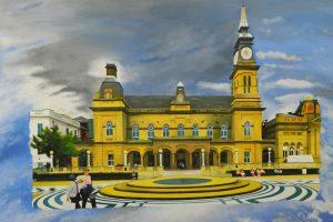 Kyle Macnamara paints The Atkinson