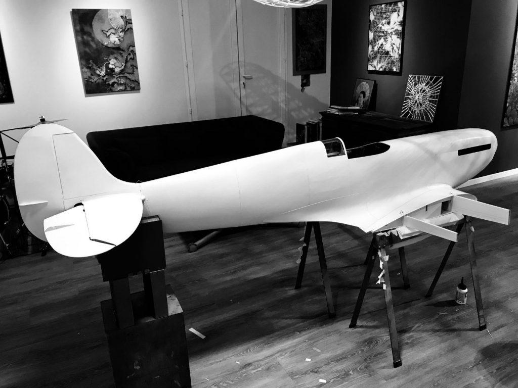 Building a paper Spitfire: Part 4