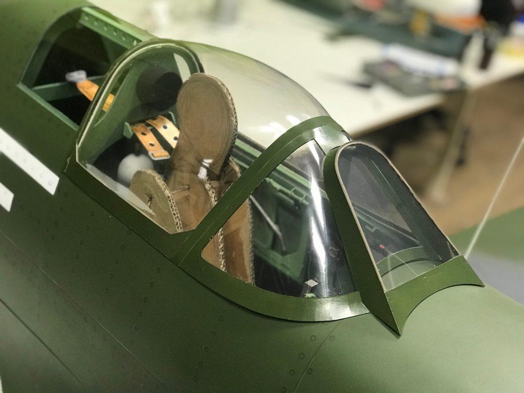 Building a paper Spitfire: Part 9