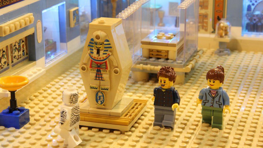 LEGO Animation: Egyptology Museum