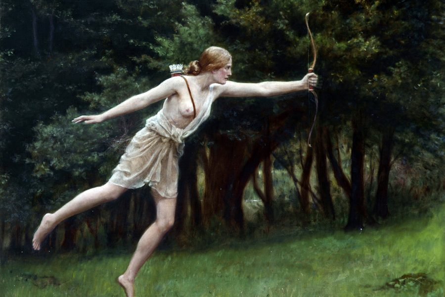 Artemis by John Collier